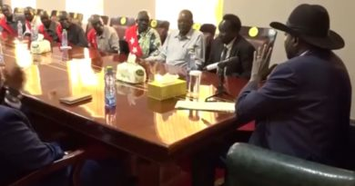 Kiir Advises former SPLM-IO Commander Gen. Ochan To Exercise Self Defense If Riek's Forces Attack