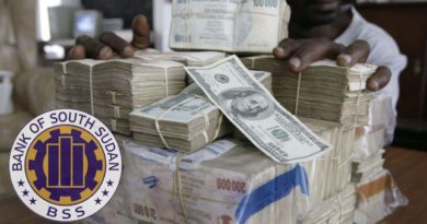 Bank of South Sudan has sold 1.4 million dollars to forex bureau in action to strengthen local currency