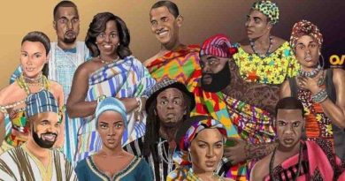 Ten Famous Non-African Personalities And How They Would Look In African Attire