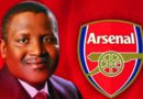 Richest African, Dangote to buy Arsenal in 2021