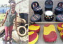 Meet young African entrepreneur who creates beautiful furniture from old tyres