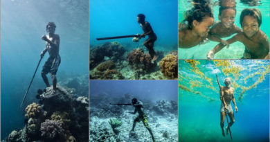 Meet the Sea Nomads, the human tribe that stay underwater longer than other humans